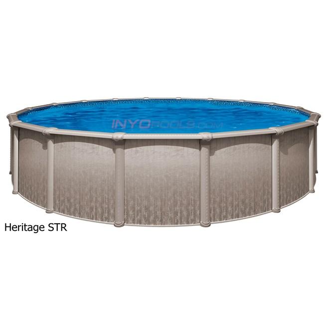 Wilbar Heritage 24 39 Round 52 Steel Above Ground Pool Skimmer Included Pher2452sspsrh1
