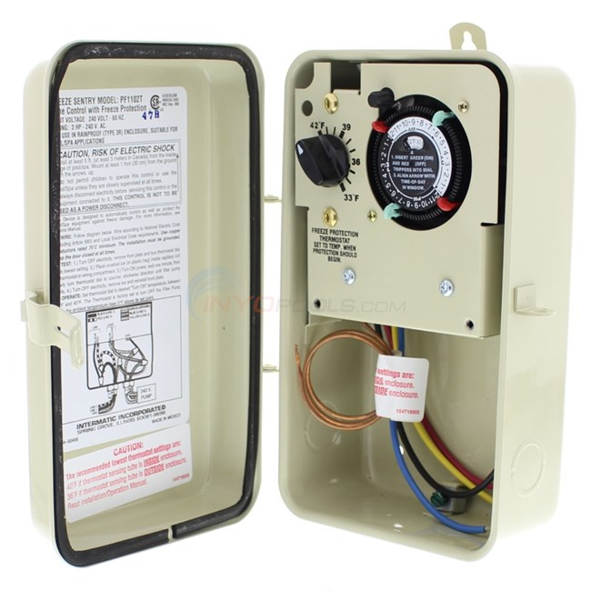 Intermatic Freeze Protect Timer 240V - PF1102T