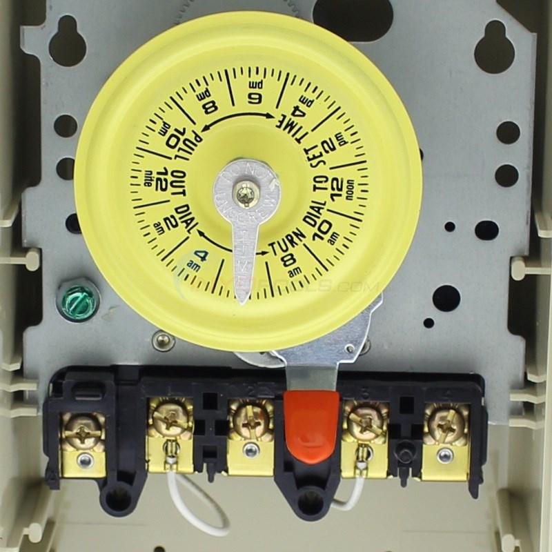 intermatic timer 220 volt plastic enclosure t104p3 inyopools com rh inyopools com Intermatic T104 Wiring -Diagram Intermatic Pool Timer Wiring Diagram