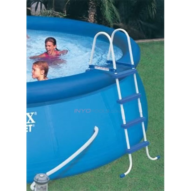 Intex Above Ground Pool Ladder with Barrier for 48\