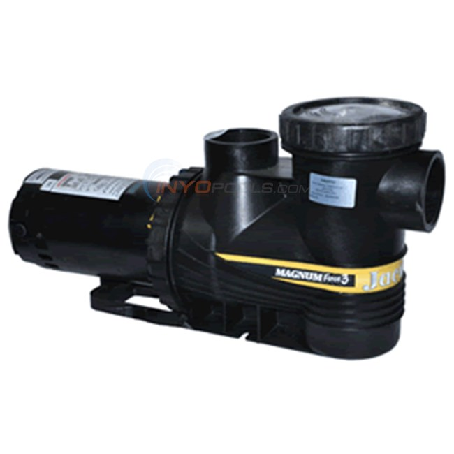 Jacuzzi inc. Magnum force, full rated, 1 hp, ee, 115/230v (9402.