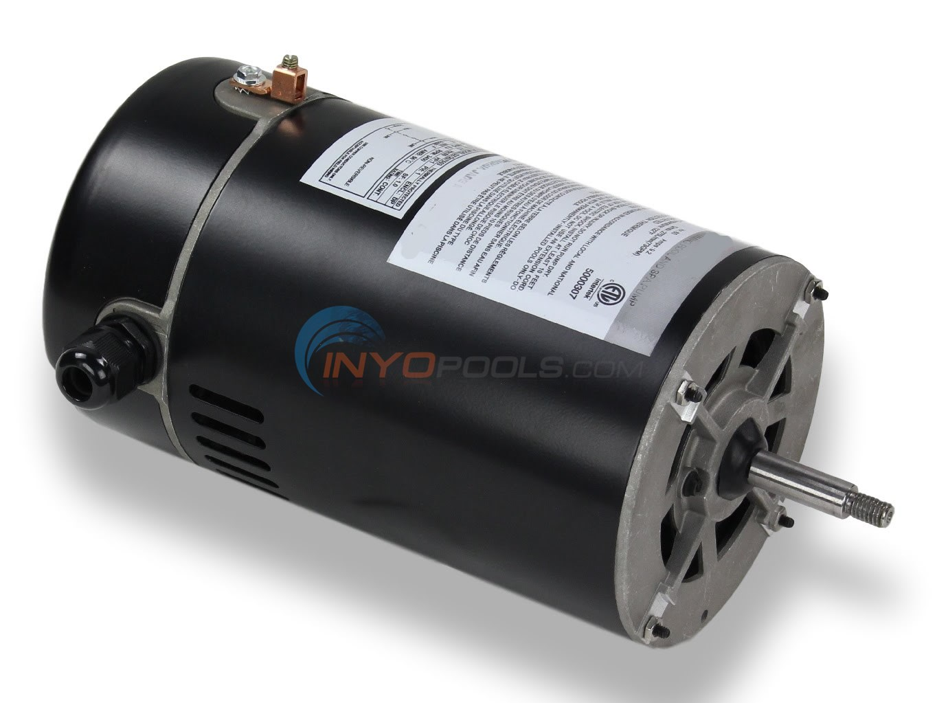 1 H.P 115V Thru Bolt Motor No Base