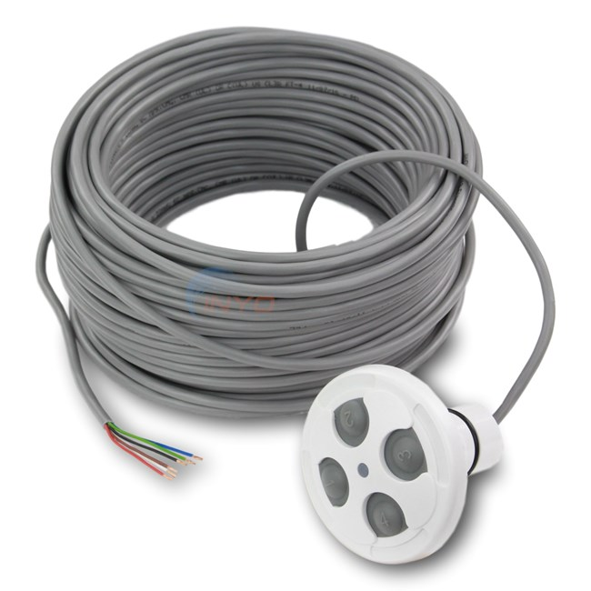 Jandy 4 Function Spa Side Remote White 100 Ft. - 7441 - INYOPools.com
