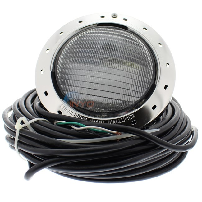 jandy watercolors led pool light 120 volt 50 ft cord stainless steel. Black Bedroom Furniture Sets. Home Design Ideas