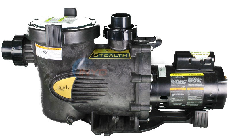 Jandy Stealth Pump 2.5 HP Up Rate Dual Speed - SHPM252