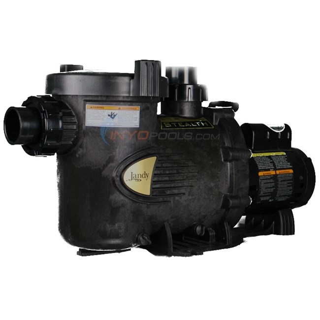 Jandy Stealth Pump 2.0 HP Up Rate - SHPM20