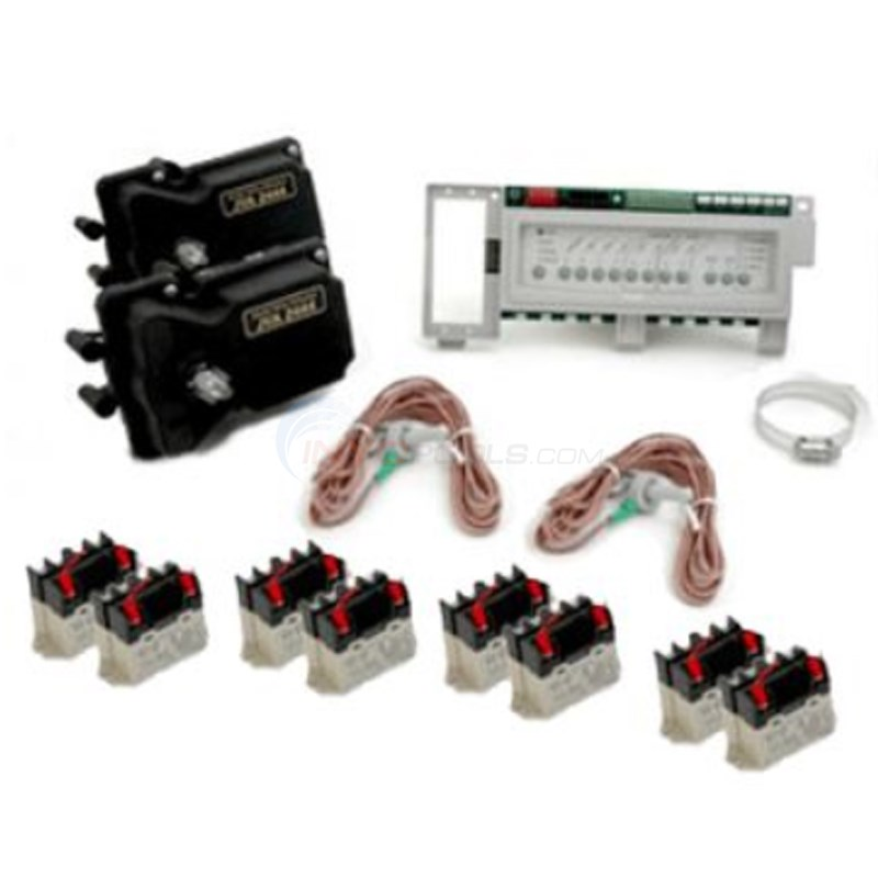 Jandy Aqualink RS8 System Level Pool & Spa w/actuators - RSPS8