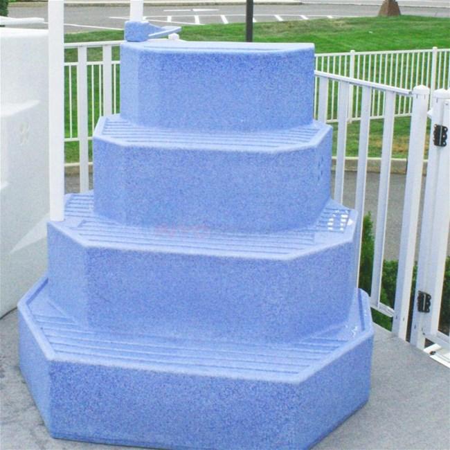 Merlin AG Pool Step Aqua Staircase The King 30125 - Wedding Cake Ladder Pool
