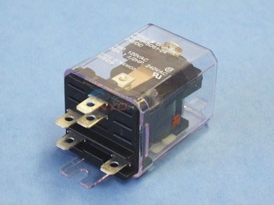Relay, SPDT, 30A, 24VDC Coil - KUHP-5D5124