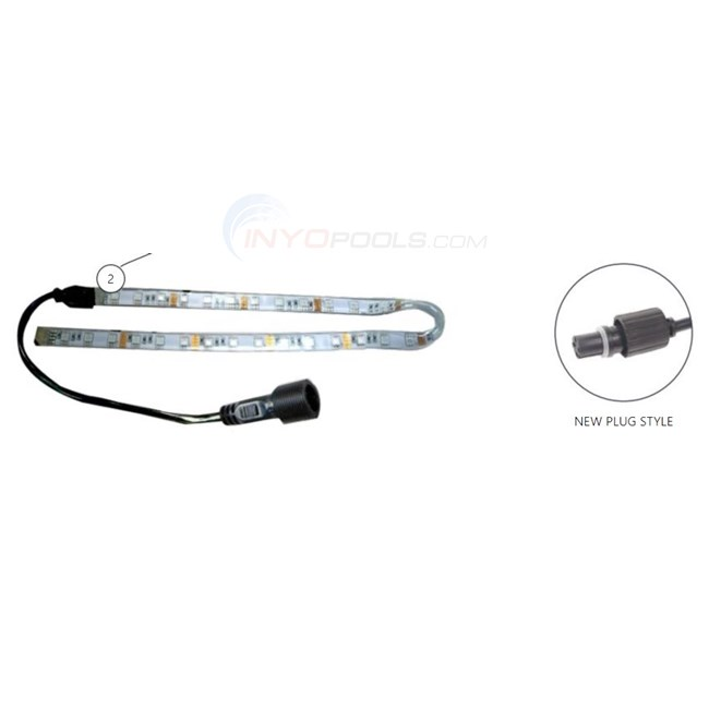 "Custom Molded Products 48"" LED WATERFALL LIGHT STRIP (NEW PLUG STYLE) - 25677-430-950"
