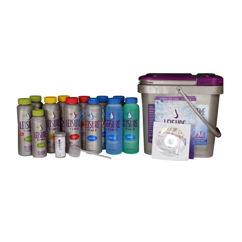 GLB Leisure Time Deluxe Spa Kit- Chlorine - 45100