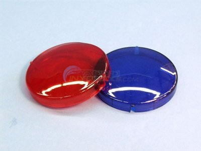 "Lens Set, 2 1/2"" Red/Blue, 1015 - LENS-SET"