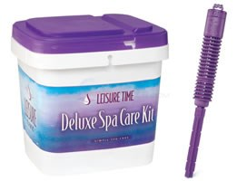 GLB Leisure Time Deluxe Mineral Purifier Spa Kit - 25774