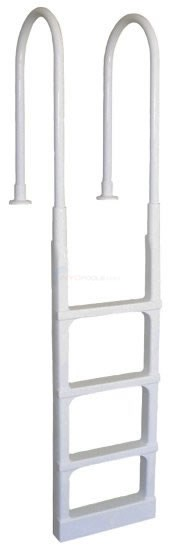"Main Access Inpool Ladder 48-54"" White - 200300"