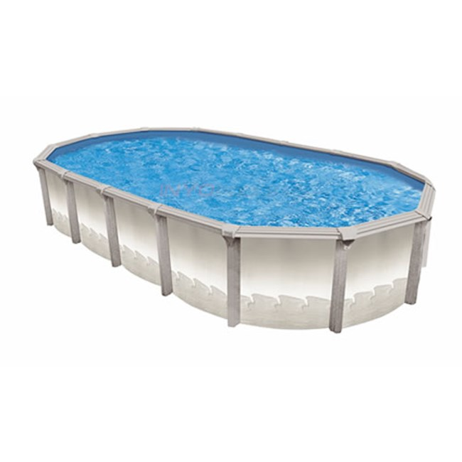 15 X 26 Oval 54 Quot Matrix Resin Above Ground Pool W Pump