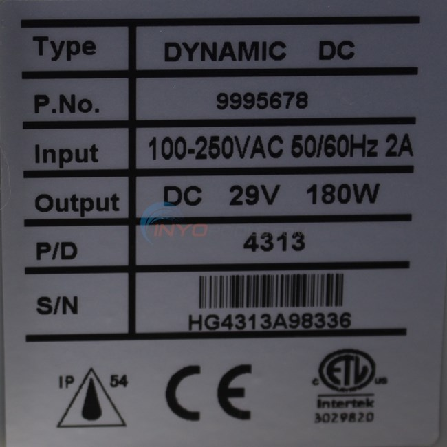 Maytronics Diag Basic Power Supply 9995678 Us Assy