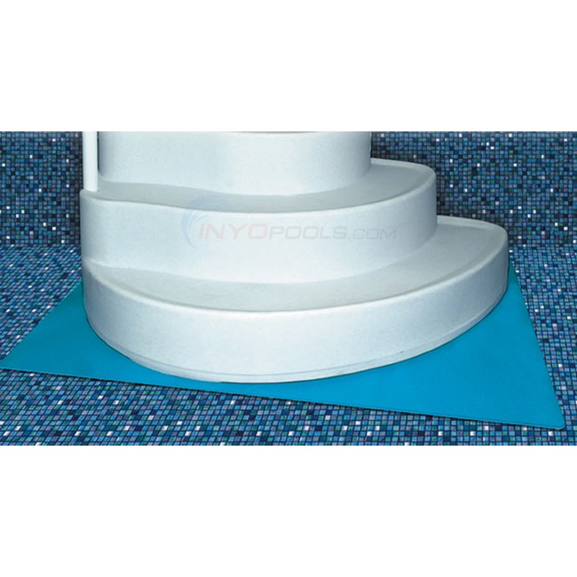 45 x 60 deluxe stepladder pad blue na402 - Above Ground Wedding Cake Pool Steps