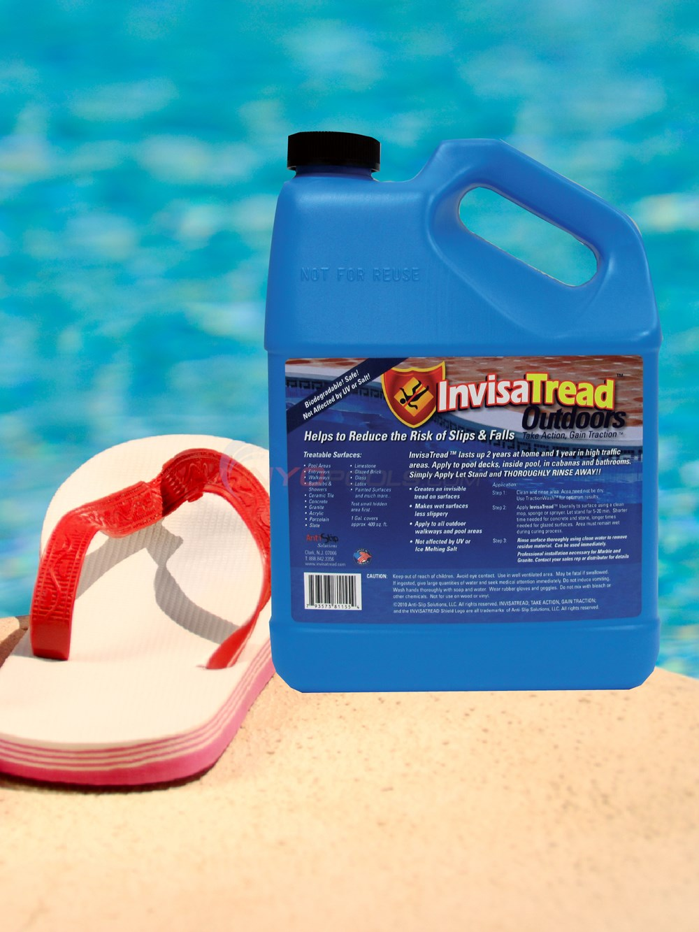 Blue Wave InvisaTread Anti-Slip Solution 1-gal - NA658