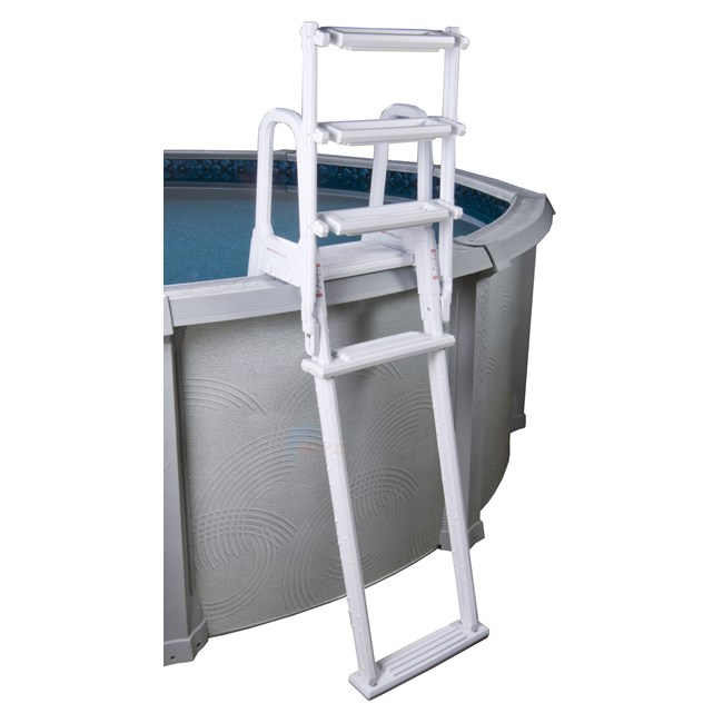 a frame pool ladder instructions