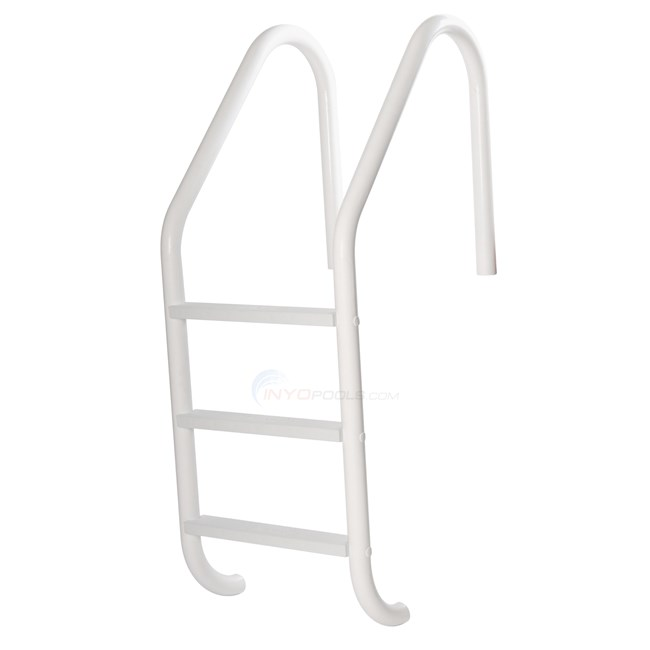 Blue Wave Salt Resistant In-Ground 3-Step Ladder (white) - NE1232