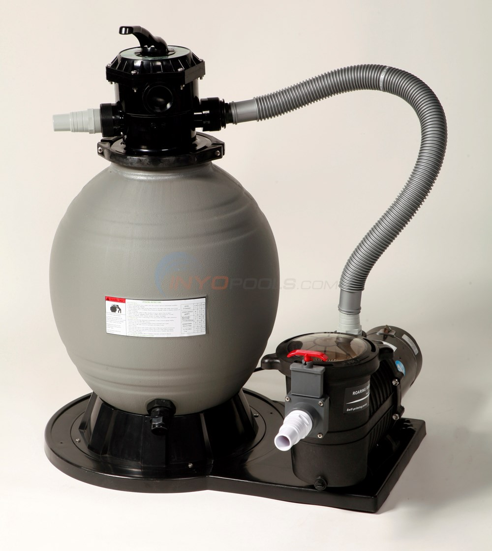 "Sandman 22"" Sand Filter System With 1.5 Hp Pump - NE6170"