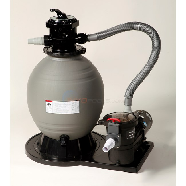 Sandman 22 Sand Filter System With 1 5 Hp Pump Ne6170