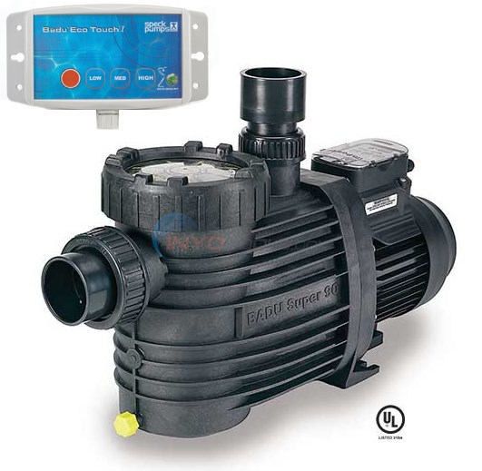 Speck Badu EcoM3 1 HP 3 Speed Pool Pump (EcoM3) - 2092136013