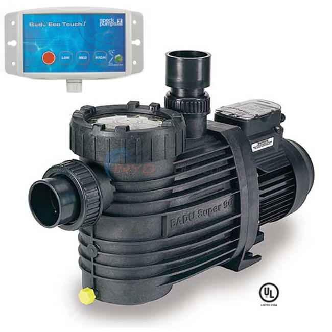 Tremendous Speck Badu Ecom3 1 Hp 3 Speed Pool Pump Ecom3 2092136013 Wiring Digital Resources Dimetprontobusorg