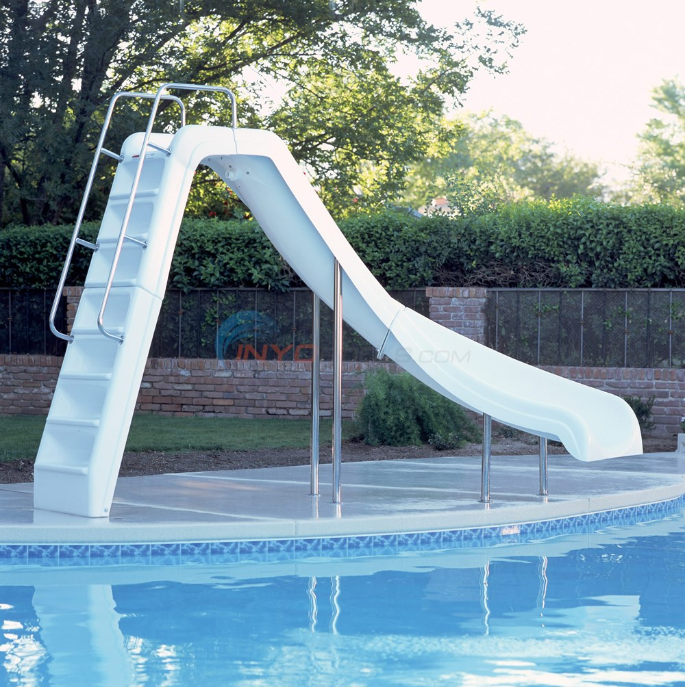Interfab Wild Ride Swimming Pool Slide Left (NE710) - WRIDECL