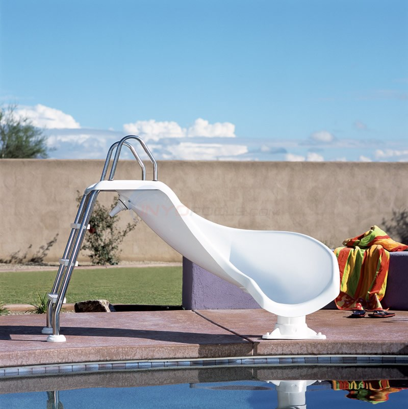 Interfab Zoomerang Pool Slide Right - ZMCR