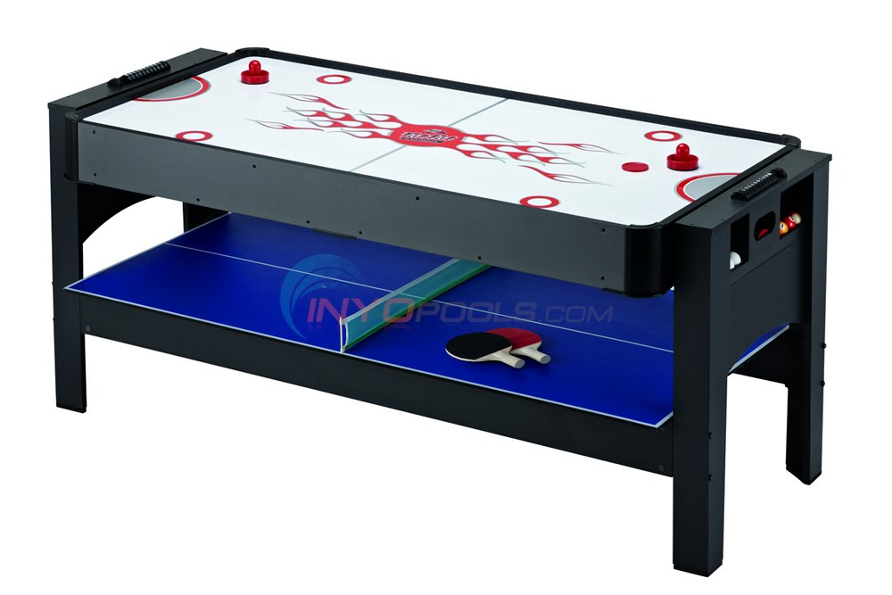3-in-1 Air Hockey, Billiards, Table Tennis 6'