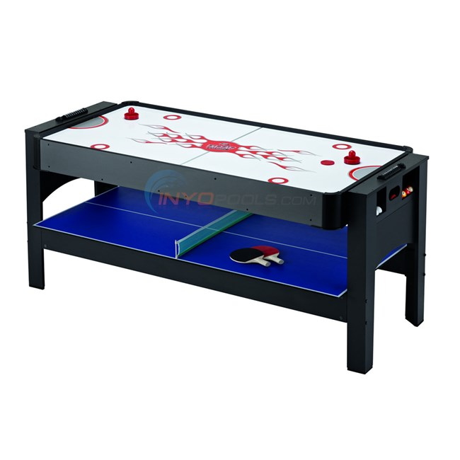Harvil 3-in-1 Air Hockey, Billiards, Table Tennis 6' - NG1022M