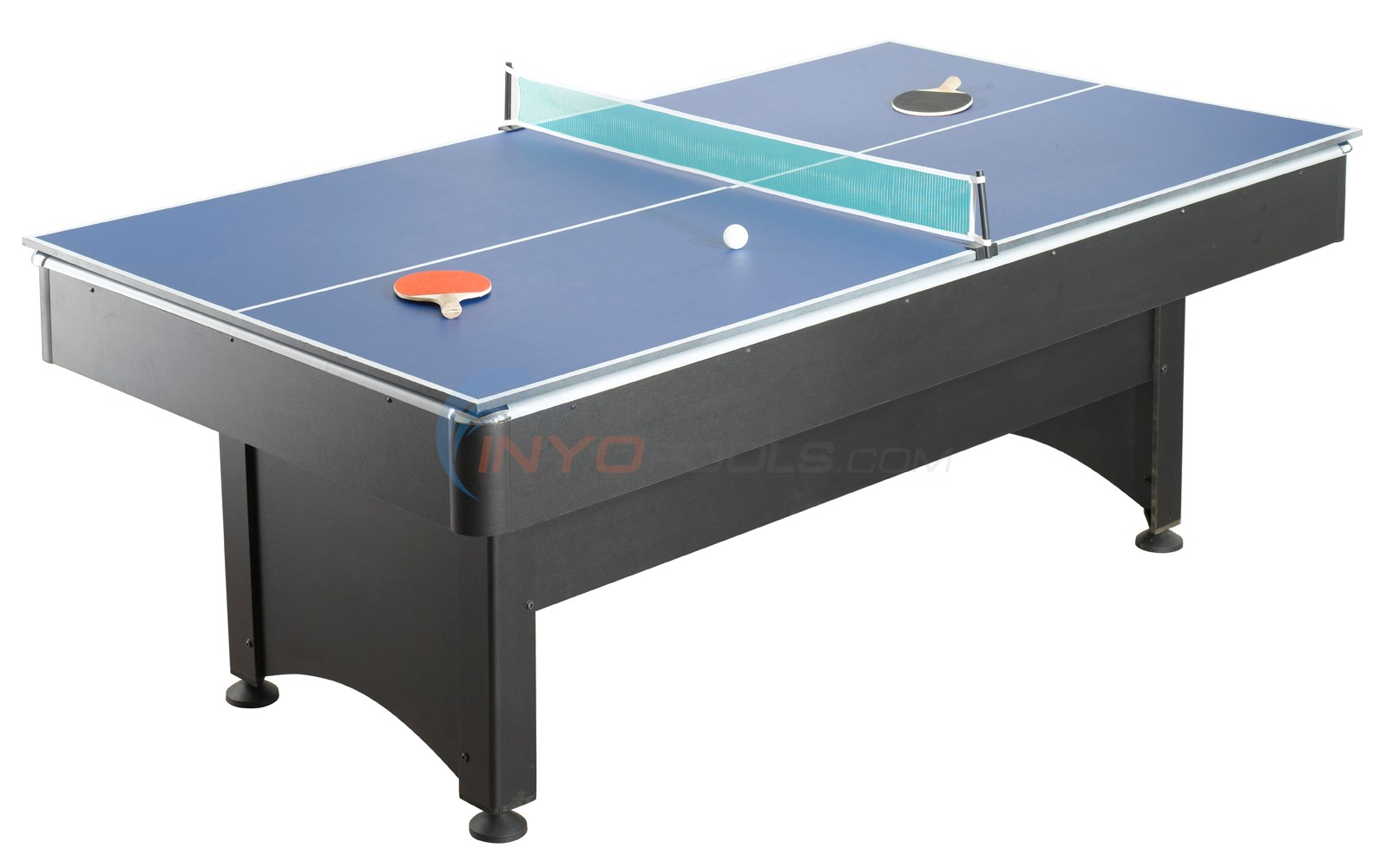 Pool Table with Table Tennis 7'