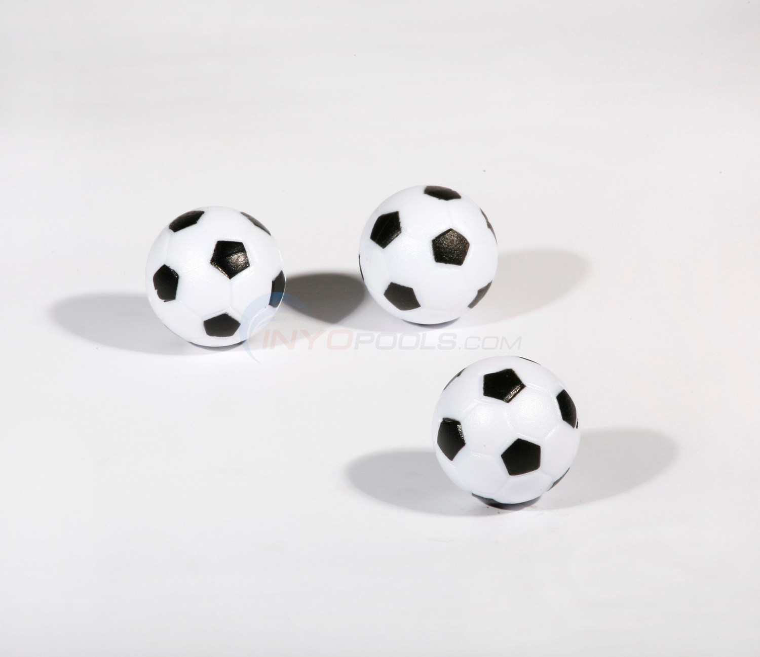 Harvil Foosballs - Black and White 3 pack - NG1024