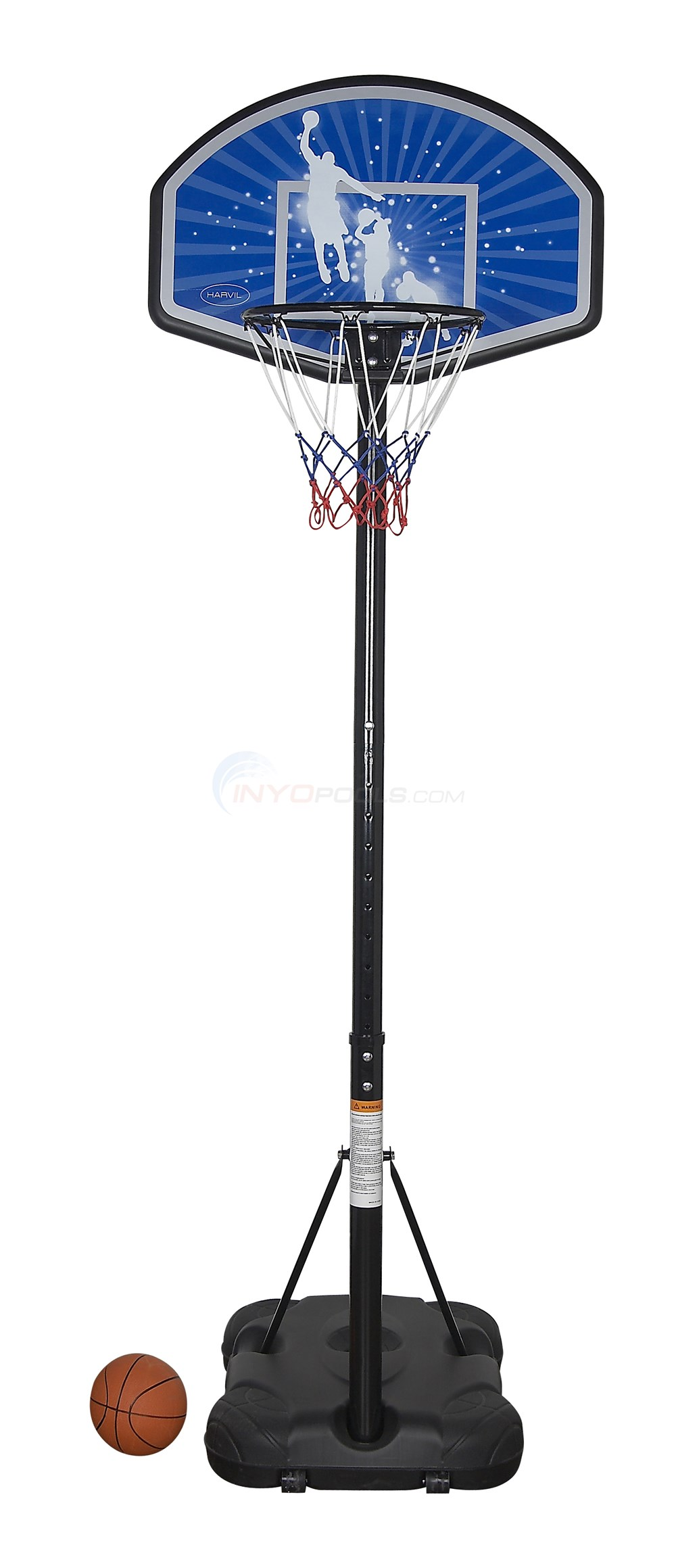 Harvil Junior Portable Basketball Hoop - NG2204