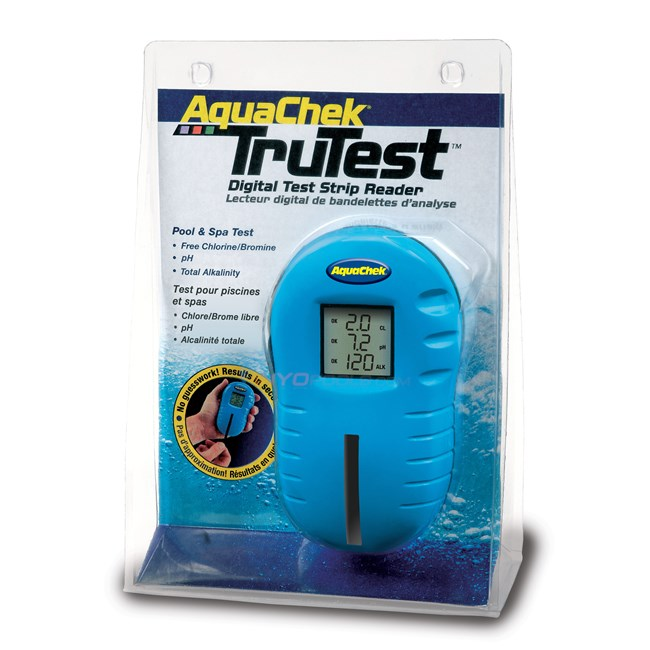 Aqua chek trutest digital reader np207 for Chlorine piscine