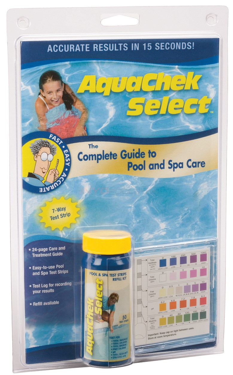 Aqua Chek 7-Way Select Test Strips