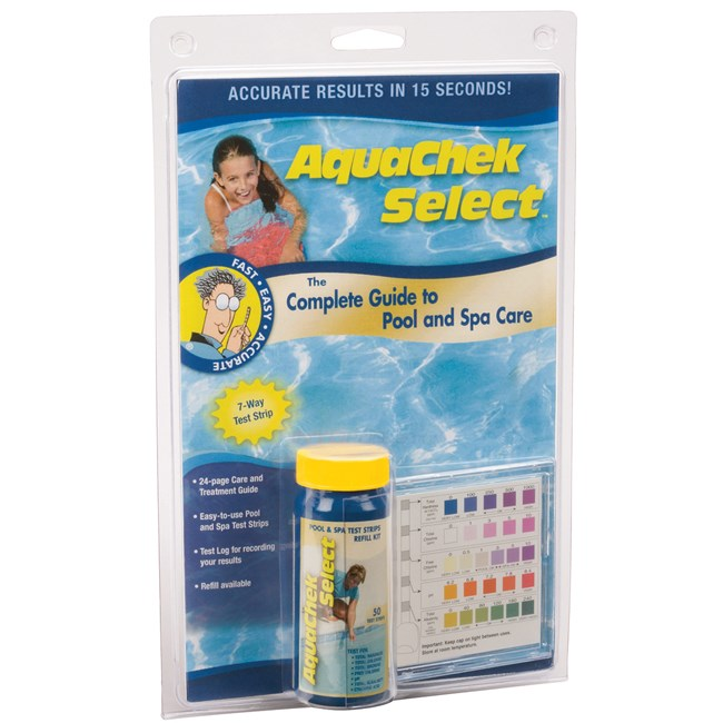 Aqua Chek 7-Way Select Test Strips - 541604