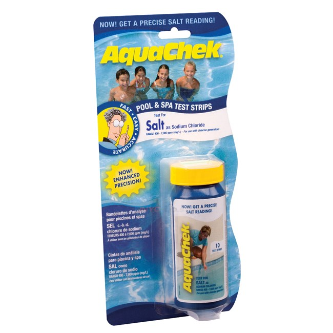 Aqua Chek Pool Salt Test Strips - NP221