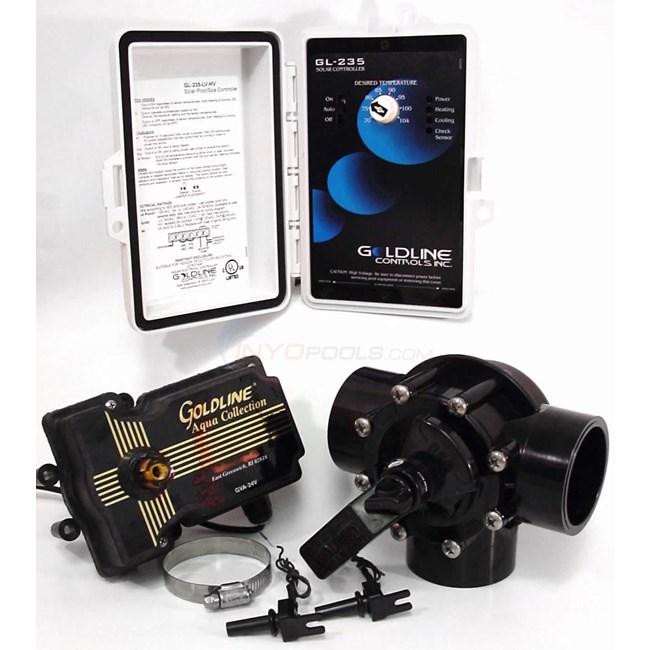 Goldline Controls Gl235 Solar Controller W Actuator