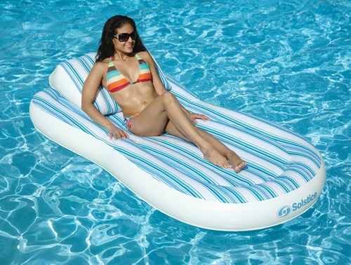 Blue Wave Pillow Top Mattress Pool Float - NT1350
