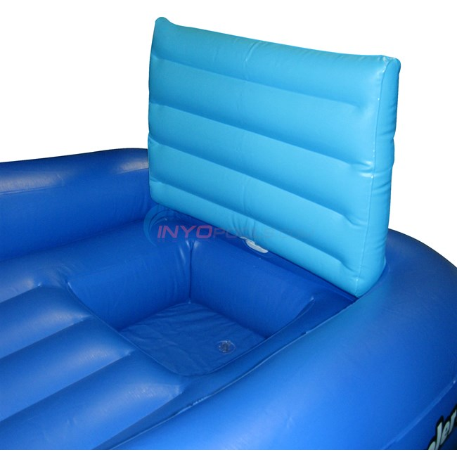 Blue wave cooler couch swimming pool lounge nt1356 for Coole couch