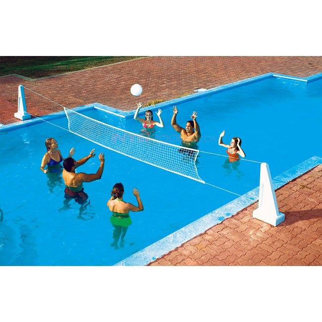 Swimline Pool Jam Inground V-Ball/B-Ball Combo - 9190M