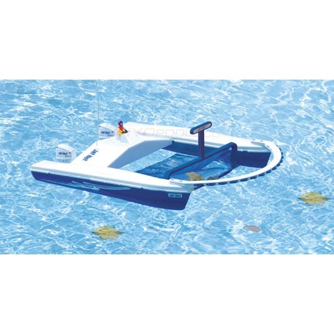 Blue Wave Jet Net Rc Boat Skimmer Nt212 Inyopools Com
