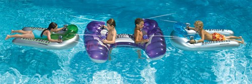 Blue Wave Battlestation Squirter Inflatable Pool Toy - NT253