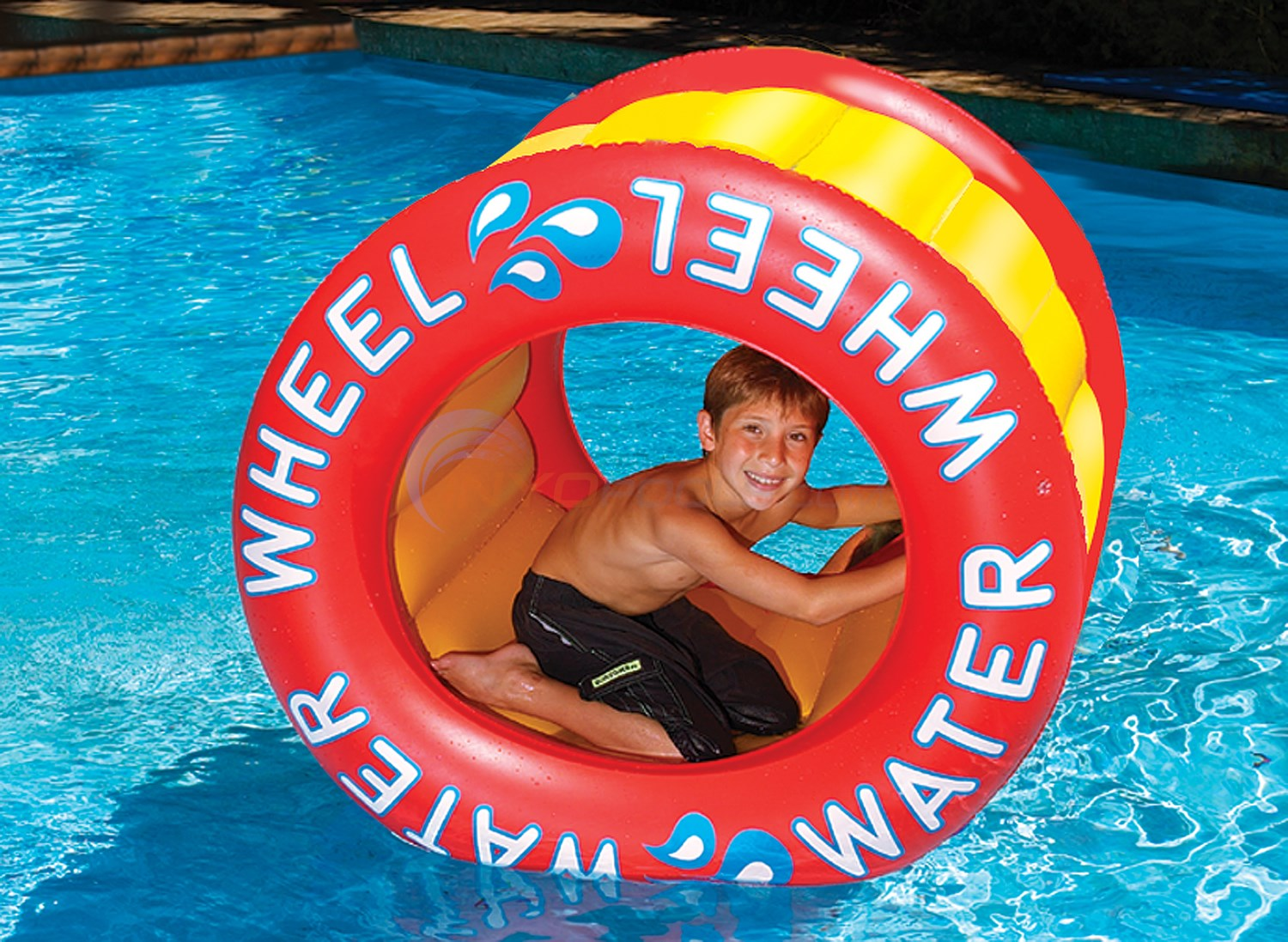 Blue Wave The Inflatable Water Wheel - NT255