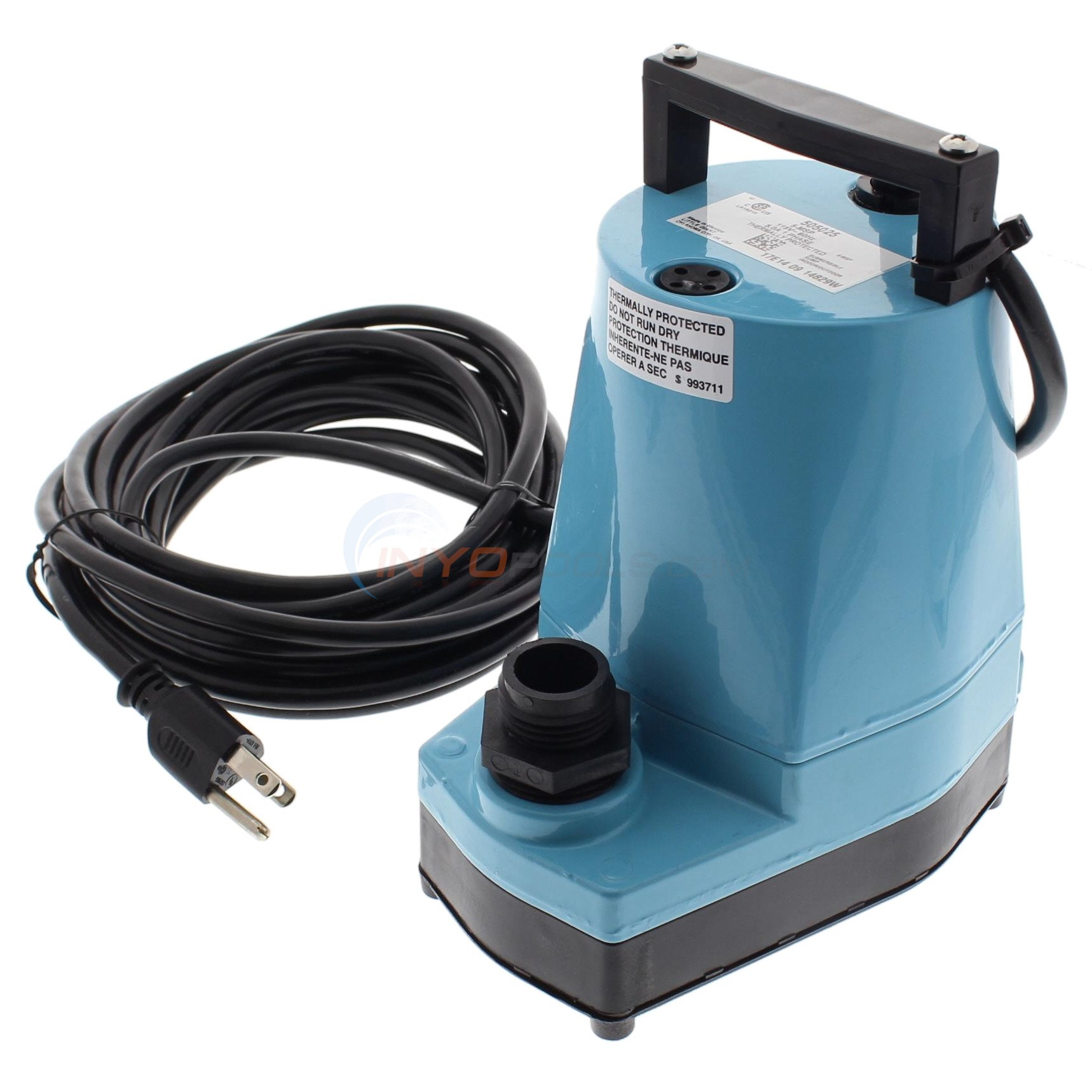 Blue Wave Water Wizard Inground Cover Pump 5-MSP - NW210