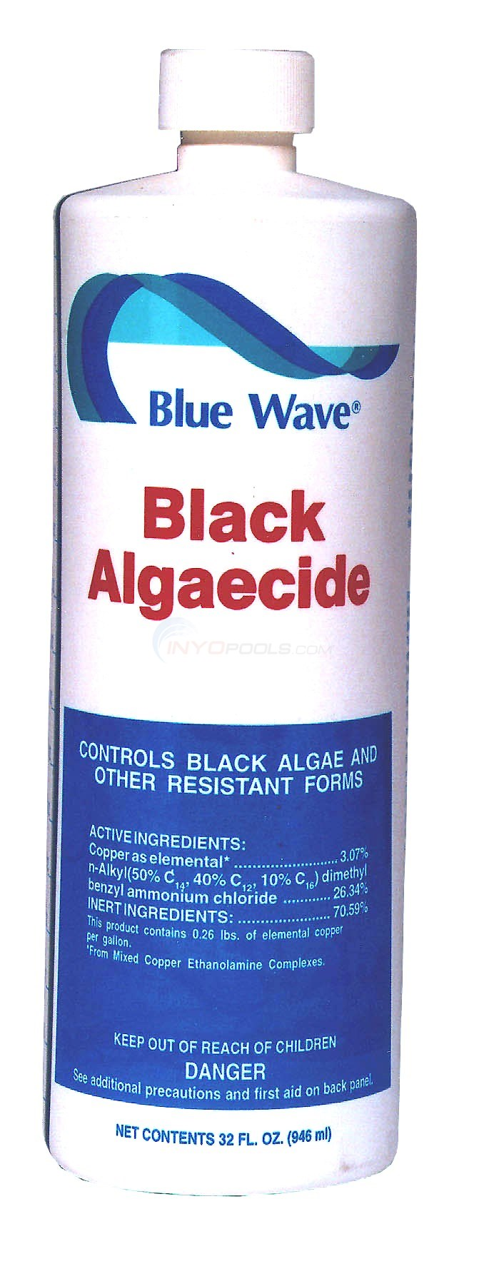 Blue Wave Black Algaecide 1 Quart - NY100