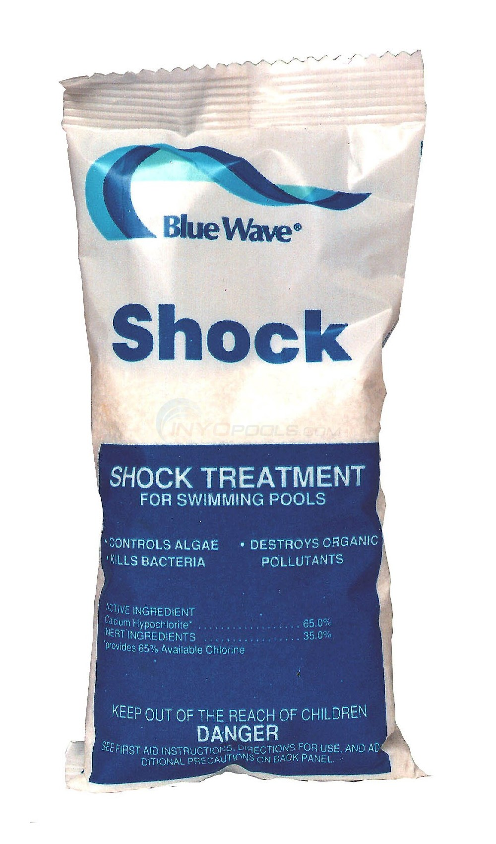 Blue Wave Blast-Out (Cal Hypo) Pool Shock 6 x 1 lb bags - NY399