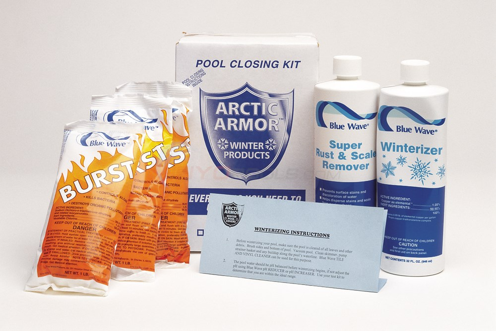 Blue Wave 7,500 Gal. Winterizing Kit with Burst - NY908